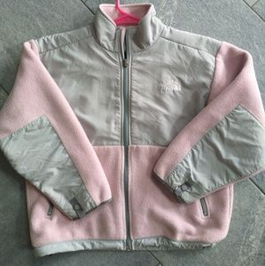 The North Face-Youth medium Pink & Gray